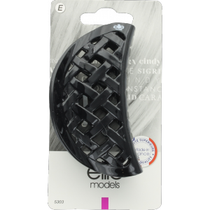 Buy Elite Models ABC5303B Claw Hair Clip (Made In France) - Black - Nykaa