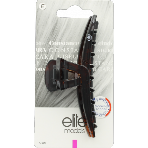 Buy Elite Models ABC5306A Claw Hair Clip (Made In France) - Brown - Nykaa