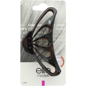 Buy Elite Models ABC5308A Claw Hair Clip (Made In France) - Brown - Nykaa