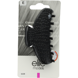 Buy Elite Models ABC5309A Claw Hair Clip (Made In France) - Black - Nykaa