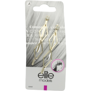 Buy Elite Models ABC5343B Fashion Hair Clip - Gold - Nykaa