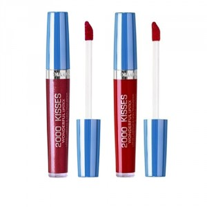 Buy Diana Of London 2000 Kisses Lipstick - 35 Crimson Red + 42 Loyal To You - Nykaa