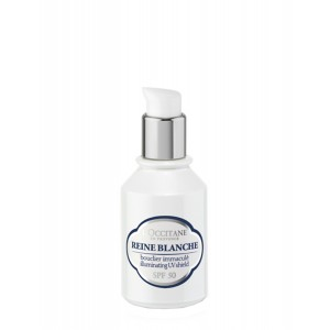 Buy L'Occitane Reine Blanche Illuminating UV Shield SPF 50 - Nykaa