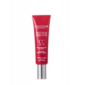 Buy L'Occitane Peony CC Skin Tone Perfecting Cream - Light - Nykaa