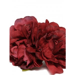 Buy Toniq Maroon Floral Rubber Band - Nykaa