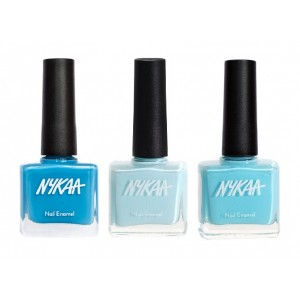 Buy Nykaa Seaside Blues Nail Enamel Combo - Nykaa