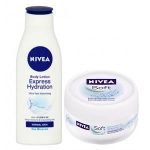 Buy Nivea Express Hydration Body Lotion + Free Soft Cream - Nykaa