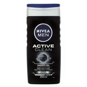 Buy Nivea Men Active Clean Shower Gel - Nykaa
