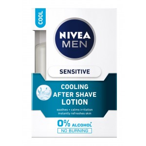 Buy Nivea Men Sensitive Cooling After Shave Lotion (Rs. 20 off) - Nykaa