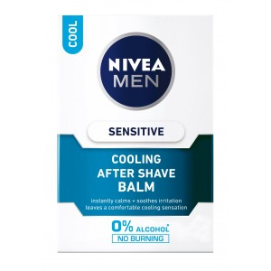 Buy Nivea Men Sensitive Cooling After Shave Balm - Nykaa