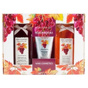 Buy Manufaktura Wine Spa Gift Package (Set Of 3) - Nykaa