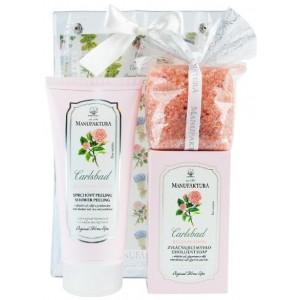 Buy Manufaktura European Rose Spa (Set Of 3) - Nykaa