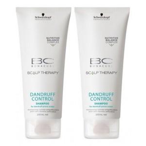 Buy Schwarzkopf Bonacure Dandruff Control Shampoo (Pack of 2) - Nykaa