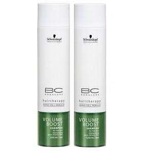 Buy Schwarzkopf Bonacure Volume Boost Shampoo (Pack of 2) - Nykaa