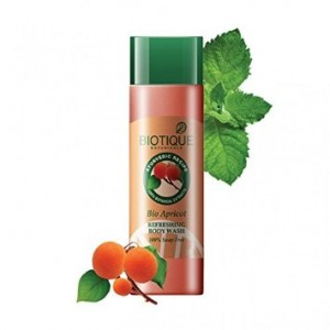 Buy Biotique Bio Apricot Refreshing Body Wash 100% Soap Free - Nykaa