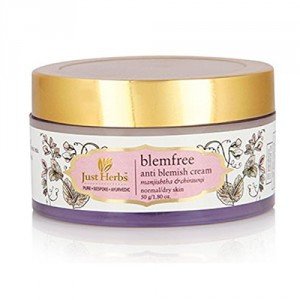 Buy Just Herbs Blemfree Anti-Blemish Cream - Nykaa