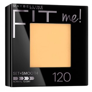 Buy Maybelline New York Fit Me Pressed Powder # 120 Classic Ivory - Nykaa