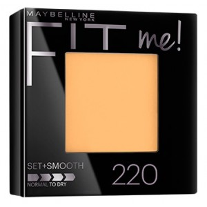 Buy Maybelline New York Fit Me Pressed Powder # 220 Natural Beige - Nykaa