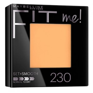 Buy Maybelline New York Fit Me Pressed Powder # 230 Natural Buff - Nykaa