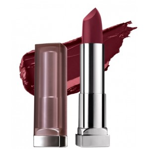 Buy Maybelline New York Color Sensational Creamy Matte Lipstick - Burgundy Blush - Nykaa
