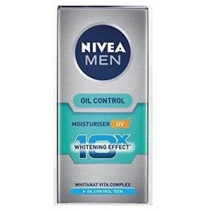 Buy Nivea For Men Whitening 10X Oil Control Moisturiser - Nykaa