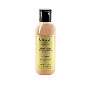 Buy Khadi Natural Shikakai And Honey Herbal Hair Conditioner - Nykaa