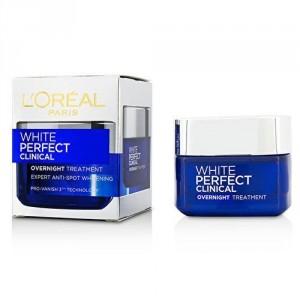 Buy L'Oreal Paris White Perfect Clinical Overnight Treatment Cream - Nykaa