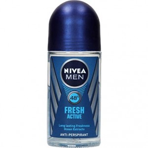 Buy Nivea Fresh Active Original Roll-On For Men - Nykaa