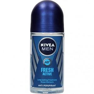 Buy Nivea Fresh Active Deodorant Roll On For Men - Nykaa