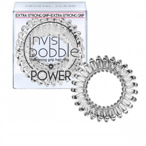 Buy Herbal Invisibobble Power Hair Ring - Crystal Clear - Pack of 3 - Nykaa