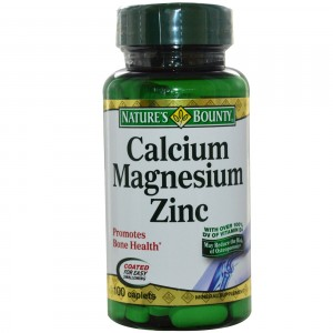 Buy Nature's Bounty Calcium Magnesium Zinc - Nykaa