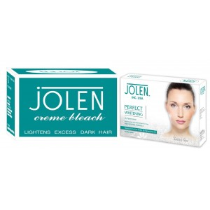 Buy Jolen Crème Bleach + Free Perfect Whitening De-Pigmention Kit - Nykaa