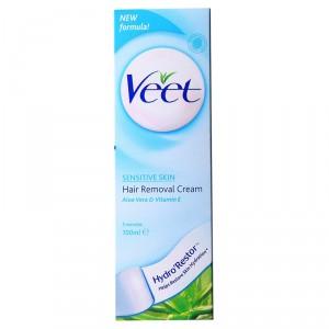 Buy Veet Hair Removal Cream For Sensitive Skin - Nykaa