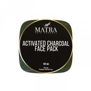 Buy Matra Activated Charcoal Face Pack - Nykaa