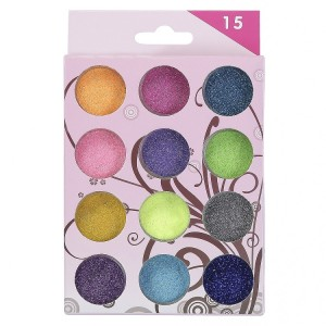 Buy Nails&More Nla-5 Glitter Set (12Pc) - Nykaa
