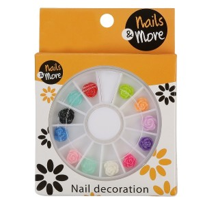 Buy Nails&More Nla-15 3d Flower - Nykaa