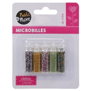 Buy Nails&More Nla-25 Glitter Set (5Pc) - Nykaa