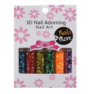 Buy Nails&More Nla-24 Glitter Set (6Pc) - Nykaa