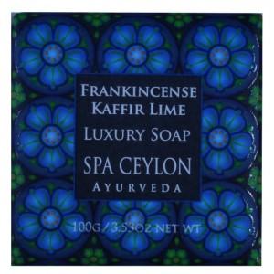 Buy Spa Ceylon Luxury Ayurveda Frankincense Kaffir Lime Luxury Soap - Nykaa