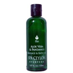 Buy Spa Ceylon Luxury Ayurveda Aloe Vera & Pandanus Massage & Bath Oil - Nykaa