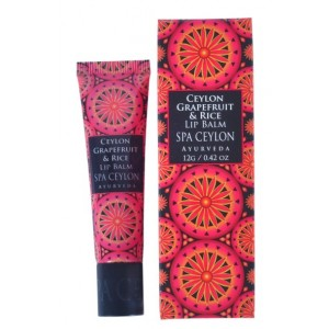 Buy Spa Ceylon Luxury Ayurveda Ceylon Grapefruit & Rice Lip Balm - Nykaa