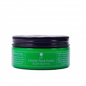 Buy Spa Ceylon Luxury Ayurveda Ceylon Tea & Ylang Body Butter - Nykaa