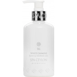 Buy Spa Ceylon Luxury Ayurveda White Jasmine Bath & Shower Gel  - Nykaa