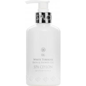 Buy Spa Ceylon Luxury Ayurveda White Tuberose Bath & Shower Gel  - Nykaa