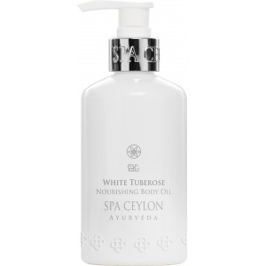 Buy Spa Ceylon Luxury Ayurveda White Tuberose Nourishing Body Oil - Nykaa