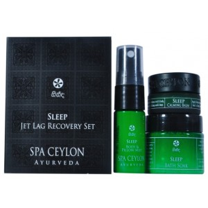 Buy Spa Ceylon Luxury Ayurveda Sleep Jet Lag Recovery Set - Nykaa