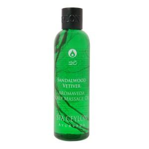 Buy Spa Ceylon Luxury Ayurveda Sandalwood Vetiver Aromaveda Scalp Massage Hair Oil - Nykaa