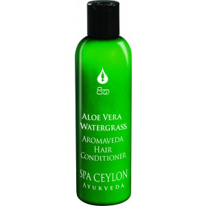 Buy Spa Ceylon Luxury Ayurveda Aloe Vera Watergrass Aromaveda Hair Conditioner  - Nykaa