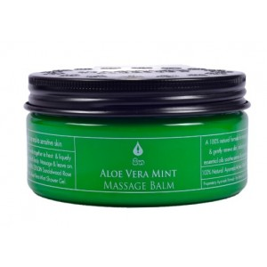 Buy Spa Ceylon Luxury Ayurveda Aloe Vera Mint Massage Balm - Nykaa