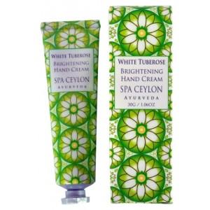 Buy Spa Ceylon Luxury Ayurveda White Tuberose Brightening Hand Cream - Nykaa
